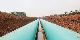 天卓塑胶供管的岳麓污水厂尾水下移工程正式通水